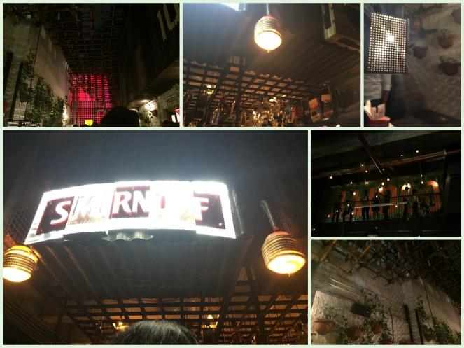 Night life collage