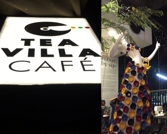 Tea villa collage